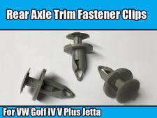 10x REAR AXLE WISHBONE COVER GUARD CLIPS SPREADER For VW Golf IV V Plus Jetta