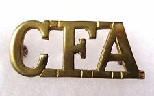 CANADA. CANADIAN FIELD ARTILLERY BRASS SHOULDER TITLE. Circa.1914/1918
