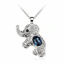 Ecstatica Cute  Elephant Pendant Chain Necklace Gift for Mother/Girlfriend