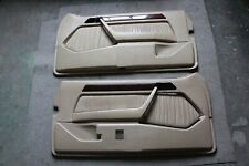Mercedes W124 Ce Front Door Cards Coupe Cream