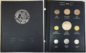 1974 -1975 FAO MONEY 38 COIN FOOD & AGRICULTURE WORLD FOOD FOR ALL SET