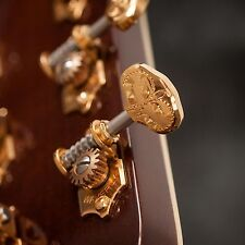 Waverly Guitar Tuners with Engraved Knobs, for Solid Pegheads