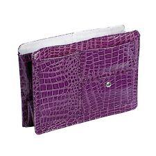 Purple Medium Croco Purse Organizer Bag Insert Divider