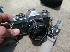 Pentax MX SLR 35mm Manual Film Camera with Pentax 50mm SMC 1:4 Lens Ex Cond