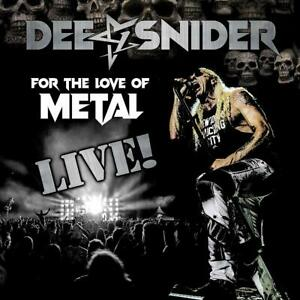 Dee Snider - For the Love of Metal-Live CD/DVD/BR NEU OVP
