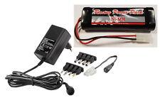 Ladegerät für Akkupack 4,8-9,6V+RC Pack 7,2V/3000mAh SUB C L2x3+Tamiya Stecker