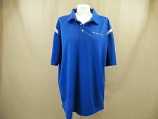Comm-Works Nike Golf Blue Polo Shirt Men's Size XL
