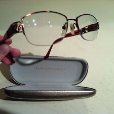 Dana Buchman Women Eyeglasses RX Frames Glasses Metal Half Rim 51x16x133 w/ Case