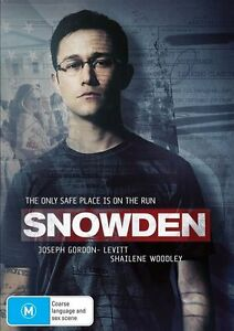 Snowden (DVD, 2017)*R4*Terrific Condition*Melissa Leo