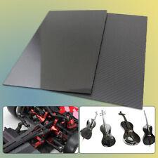 1PC Carbon Fiber Plate Sheet Thickness 0.2-4 mm 100*100mm 3K Plain High Glossy