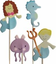 Under The Sea Cupcake Pick Toppers (24 Supplied)