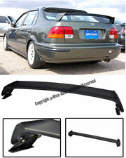 MUGEN STYLE REAR SPOILER ROOF WING ABS PLASTIC FOR CIVIC SEDAN 4DR 1996-2000