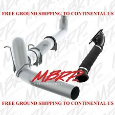 "01-04 GM LB7 6.6 6.6L Duramax MBRP 5"" TRUE TURBO BACK OFF ROAD Exhaust System"