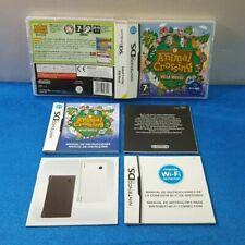 CAJA DE JUEGO NINTENDO DS 2DS 3DS DSI DSXL -  ANIMAL CROSSING WILD WORLD MANUAL