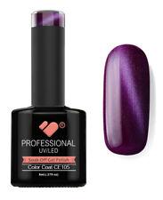 CE105 VB Line Cat Eye Plum Purple Metallic - UV/LED nail gel polish - quality