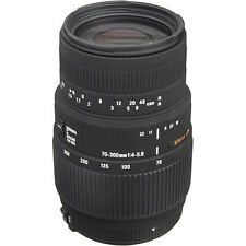 Sigma 70-300mm f/4-5.6 DG Macro Lens For Canon - Sigma USA Authorized Dealer!