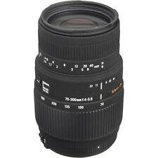 Sigma 70-300mm f/4-5.6 DG Macro Lens For Canon - Sigma USA Authorized Dealer!