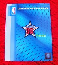 Official 1998 NBA All Star Game patch Kobe Bryant Michael Jordan Tim Duncan Shaq