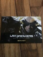 Lawbreakers Closed Beta Key PAX EAST EXCLUSIVE 2017