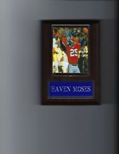HAVEN MOSES PLAQUE DENVER BRONCOS FOOTBALL NFL