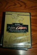 THE EMPEROR'S NEW GROOVE - 2-DISC COLLECTORS EDITION - DISNEY DVD - NM