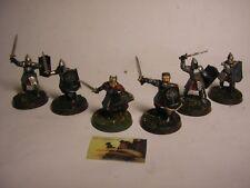 soldatini Warhammer Il Signore degli Anelli Soldati di Gondor plastica mm 30