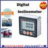 LCD Magnet Digitale Winkelmesser Winkelmessgerät Neigungsmesser Inklinometer NEU