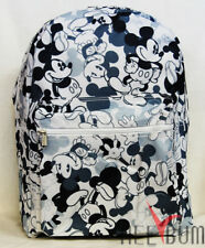 """Disney Mickey Mouse Backpack 16"""" Large School Bag"""