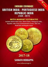 INDIAN COINAGE BOOK CATALOG 2017 - 6th Edition BRITISH INDIA- PORTUGUESE INDIA