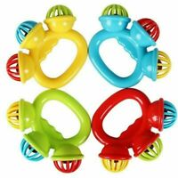 Cartoon Infant Baby Shake Bell Rattles Newborn Toys Hand Toy For Kids  Fashion