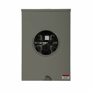 Eaton 200A Meter Socket UGE4213CCCCH 1 Phase 3 Wire 5 Jaw Ringless Outdoor