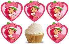 24 Muffin/ Cupcake Charlotte aux Fraises  Gateau Disque Azyme  Anniversaire