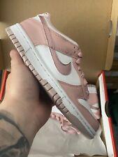 Nike Dunk Low Pink Velvet GS / Grade School UK3.5 US4Y - Brand New Same Day Ship
