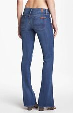 7 For All Mankind Kaylie Flare Leg Jeans skinny size 27 $198