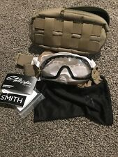 Smith Optics Boogie SOEP Elite Goggle - Tan 499 Frame/Clear Mil-Spec Lens