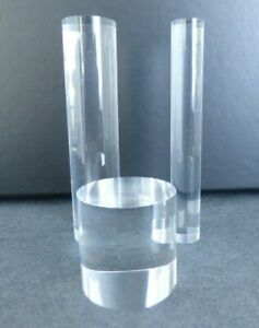 Card-io Clear Acrylic Rod Peg Holder X 3