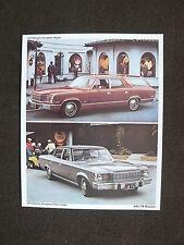 AMC 1975 Matador Brougham - US-Prospektkarte brochure postcard 1975