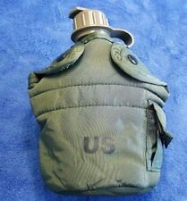 """NEW"" Genuine US Military 1-QT OD Green CANTEEN & NEW OD Green INSULATED COVER"