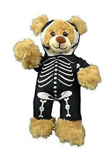 """Skeleton Morph Suit Teddy Bear Clothes Outfit Fits Most 8"""" - 10"""" Build-A-Bear an"""