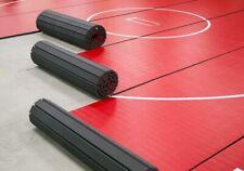"6' X 42' X 1 5/8"" RED WRESTLING MAT SECTION - MMA MAT GYMNASTICS BOXING BJJ"