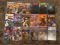 Lot of 18 HTF Independent All First Issues #1 Beautiful
