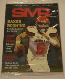 August 2019 SMR Baker Mayfield The Official PSA Certified Price Guide Unopened