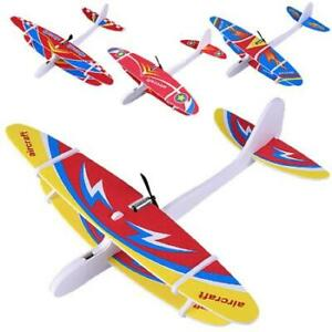 Electric Hand Throwing Glider Plane Outdoor Park Foam Electric Flying  Aircraft