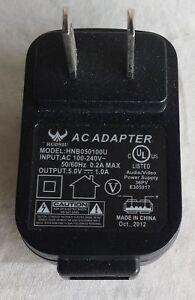 Huoniu AC Power Adapter Model: HNB050100U Wall Charger 5V DC 1A Used