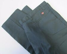 NWT Dickies Occupational Wear LP812 Industrial Flat Front Pant Green Sz 50 UU