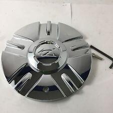 """Zinik Z12 Mazotti Wheel Center Hub Cap Chrome SI-CAP-Z151 8"""" Diameter ZK36"""