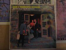 MITCHELL AYRES, HAVE A WONDERFUL WEEKEND - LP LPM-1603