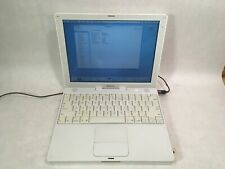 "Apple iBook G4 12"" A1054 PowerPC G4 1.2GHz 768MB RAM 60GB HD OS X 10.4.11 -RR"