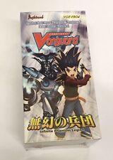 Card Fight Vanguard Infinite Phantom Legion Sealed Booster Box VGE-EB04