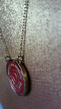 Oroton Signature Gold Crescendo Enamel Choker Necklace Collar